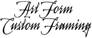 Art Form Custom Framing Enjoy an ongoing 20% off the regular price of any PURCHASE (sale items excluded)