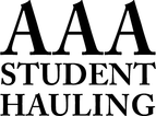 AAA Student Hauling 20% off your total purchase