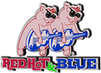 Red Hot & Blue Enjoy one FREE ENTREE when a second ENTREE of equal or greater value is purchased