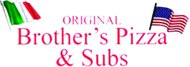 Brother's Pizza & Subs Enjoy any one complimentary PIZZA when a second PIZZA of equal or greater value is purchased