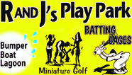 R & J's Play Park Enjoy one complimentary ROUND OF MINIATURE GOLF when a second ROUND OF MINIATURE GOLF of equal or greater value is purchased