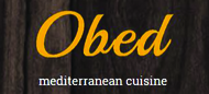 Obed Mediterranean Cuisine Enjoy 25% off the TOTAL BILL
