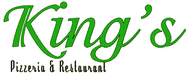 Kings Pizzeria & Restaurant Enjoy 25% off the TOTAL BILL