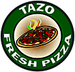 Tazo Pizza Enjoy one FREE PIZZA when a second PIZZA of equal or greater value is purchased