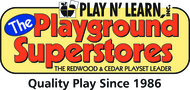 Play N' Learn's Playground Superstores $100 off a minimum purchase of $1,999
