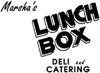 Marsha's Lunch Box Deli and Catering Enjoy one complimentary MENU ITEM when a second MENU ITEM of equal or greater value is purchased
