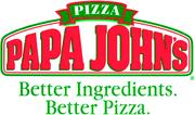 Papa John's Pizza25% OFF your Pizza Order at regular menu price