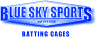 Blue Sky Sports Batting Cages Enjoy up to 6 tokens at 50% off the regular price