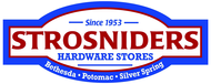 Strosniders Hardware $10 OFF a purchase of $50 or more