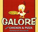 Galore Fried Chicken and PizzaEnjoy 50% off the regular price of any PIZZA