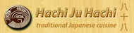 Hachi Ju Hachi Enjoy 25% off the TOTAL BILL