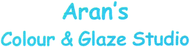 Aran's Colour & Glaze Studio Enjoy 20% off the regular price of any PURCHASE (sale items excluded)