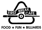 First Break Cafe Enjoy one complimentary LUNCH OR DINNER ENTREE when a second LUNCH OR DINNER ENTREE of equal or greater value is purchased