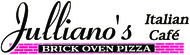 Julliano's Italian Cafe' Brick Oven Pizza Enjoy one FREE LUNCH OR DINNER ENTREE when a second LUNCH OR DINNER ENTREE of equal or greater value is purchased