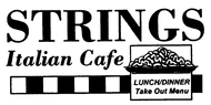 Strings Italian Cafe Enjoy $10 off with a minimum purchase of forty dollars (excluding tax, tip, and alcoholic beverages).