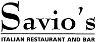 Savio's Italian Restaurant & Bar Enjoy one FREE LUNCH OR DINNER ENTREE when a second LUNCH OR DINNER ENTREE of equal or greater value is purchased